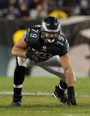 PHILADELPHIA - NOVEMBER 07:  Todd Herremans #79 of the Philadelphia Eagles against the Indianapolis Colts on November 7, 2010 at Lincoln Financial Field in Philadelphia, Pennsylvania. The Eagles defeated the Colts 26-24.  (Photo by Jim McIsaac/Getty Image