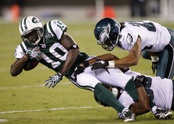 The Jets-Eagles Week 15 match up got very interesting when Nnamdi Asomugha spurned New York and signed in Philadelphia.