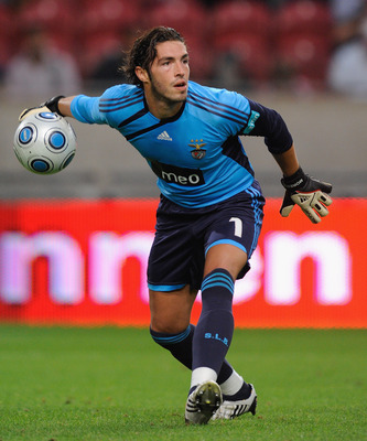 AMSTERDAM, NETHERLANDS - JULY 26:  Jose Moreira of Benfica during the Amsterdam Tournament match between Ajax and Benfica at the Amsterdam Arena on July 26, 2009 in Amsterdam, Netherlands.  (Photo by Michael Regan/Getty Images)