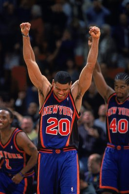 Allan Houston was a pivotal member of the last Knicks squad to win a postseason series.