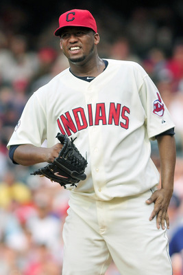 Fausto Carmona sports an ugly 5.34 ERA in 2011