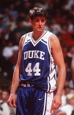 28 Jan 1995: CHEROKEE PARKS OF DUKE ON COURT DURING THE 74-72 WIN OVER MARYLAND AT THE US AIR ARENA IN LANDOVER, MARYLAND.
