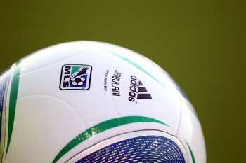FRISCO, TX - JUNE 04:  A MLS soccer ball at Pizza Hut Park on June 4, 2011 in Frisco, Texas.  (Photo by Ronald Martinez/Getty Images)