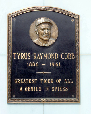 Home of the Detroit Tigers for nearly a century, Tiger Stadium was home to many great players. Ty Cobb's plaque still adorned the wall in front of Tiger Stadium. (Photo by Leon Halip/WireImage)