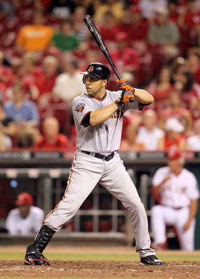 CINCINNATI, OH - JULY 30:  Carlos Beltran #15 of the San Francisco is at bat during the game against the Cincinnati Reds at Great American Ball Park on July 30, 2011 in Cincinnati, Ohio.  (Photo by Andy Lyons/Getty Images)