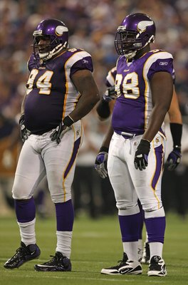 Pat Williams (DT) and Letroy Guion (DT)