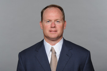 MIAMI, FL - CIRCA 2010: In this handout image provided by the NFL,  Jeff Ireland of the Miami Dolphins poses for his 2010 NFL headshot circa 2010 in Miami, Florida. (Photo by NFL via Getty Images)