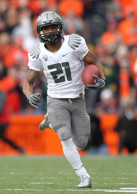 RB LaMichael James, Oregon
