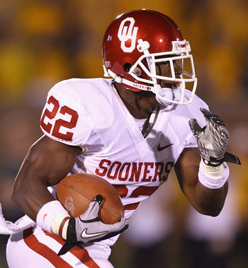 RB Roy Finch, Oklahoma