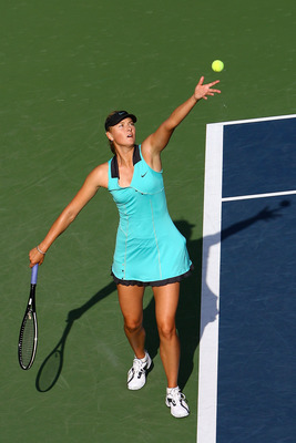 Maria Sharapova lost to Caroline Wozniacki at the 2010 U.S. Open.