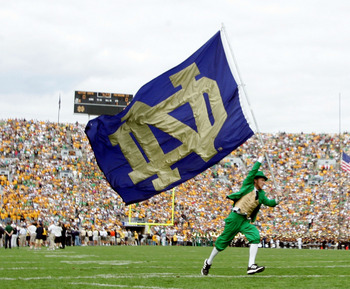 A Notre Dame vs. Texas rivalry would be great for both schools