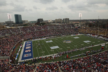 SMU has a rising football program in the seventh largest media market