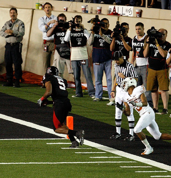 Michael Crabtree and the Red Raiders end the Longhorns national title hopes