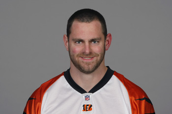 CINCINNATI, OH - CIRCA 2010: In this handout image provided by the NFL, Evan Mathis of the Cincinnati Bengals poses for his 2010 NFL headshot circa 2010 in Cincinnati, Ohio.  (Photo by NFL via Getty Images)