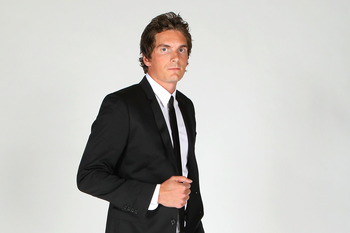 LAS VEGAS, NV - JUNE 22:  Loui Eriksson of the Dallas Stars poses for a portrait during the 2011 NHL Awards at the Palms Casino Resort June 22, 2011 in Las Vegas, Nevada.  (Photo by Jeff Gross/Getty Images)