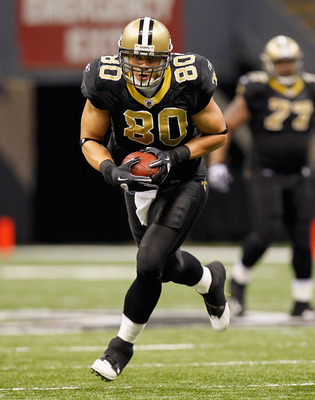 NEW ORLEANS - NOVEMBER 21:  Jimmy Graham #80 of the New Orleans Saints against the Seattle Seahawks at Louisiana Superdome on November 21, 2010 in New Orleans, Louisiana.  (Photo by Kevin C. Cox/Getty Images)