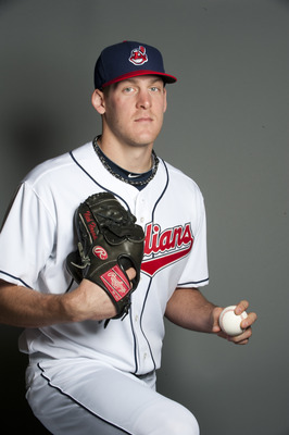 GOODYEAR, AZ - FEBRUARY 22: Nick Hagadone #67 of the Cleveland Indians poses during their photo day at the Cleveland Indians Spring Training Complex on February 22, 2011 in Goodyear, Arizona. (Photo by Rob Tringali/Getty Images)