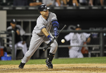 Jeter has proven he'll do whatever it takes to get on-base.