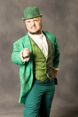 The annoying green midget that killed the WWE's Cruiserweight division.