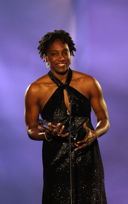 CHICAGO - AUGUST 12:  Teresa Edwards attends the 2009 U.S. Olympic Hall of Fame Induction Ceremony at McCormick Place on August 12, 2009 in Chicago, Illinois. (Photo by Tasos Katopodis/Getty Images for USOC)