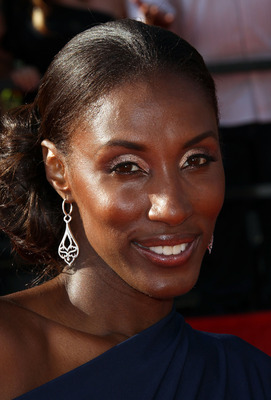 LOS ANGELES, CA - JULY 13:  Former WNBA player Lisa Leslie arrives at The 2011 ESPY Awards at Nokia Theatre L.A. Live on July 13, 2011 in Los Angeles, California.  (Photo by Frederick M. Brown/Getty Images)