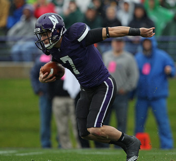 Northwestern senior QB Dan Persa