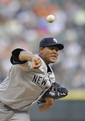 CHICAGO, IL - AUGUST 04:  Starting pitcher Ivan Nova #47 of the New York Yankees delivers during the first inning against the Chicago White Sox at U.S. Cellular Field on August 4, 2011 in Chicago, Illinois.  (Photo by Brian Kersey/Getty Images)