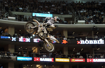 Robbie Maddison, the last man to land a body varial at the X Games