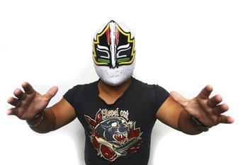 Mascarita Sagrada.  I think this is the original.  Probably.