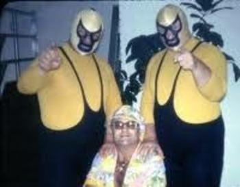 "The ""Memphis"" Assassins with manager Gorgeous George Jr."