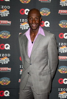 INDIANAPOLIS, IN - MAY 28:  Pro Football Hall of Famer Jerry Rice poses for a photo during the IZOD GQ party celebrating a Century of Speed, Style and Stars at the 100th Anniversary Indianapolis 500 on May 28, 2011 at the Indianapolis Museum of Art in Ind