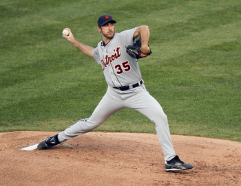 Verlander is the current leader for the Cy Young Award.