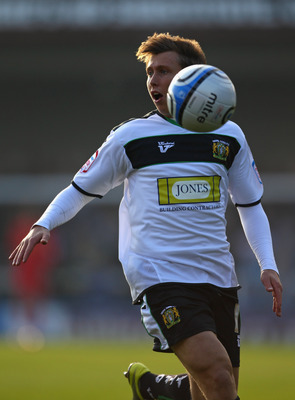 Freeman whilst on loan with Yeovil Town
