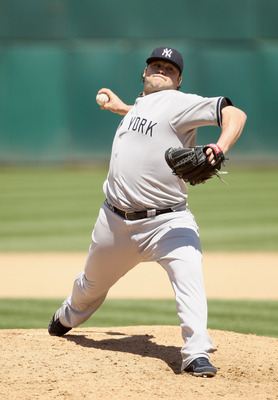 OAKLAND, CA - JUNE 01:  Joba Chamberlain #62 of the New York Yankees in action against the Oakland Athletics at Oakland-Alameda County Coliseum on June 1, 2011 in Oakland, California.  (Photo by Ezra Shaw/Getty Images)
