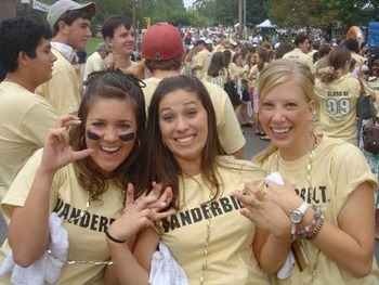 12.  The Vanderbilt Commodores