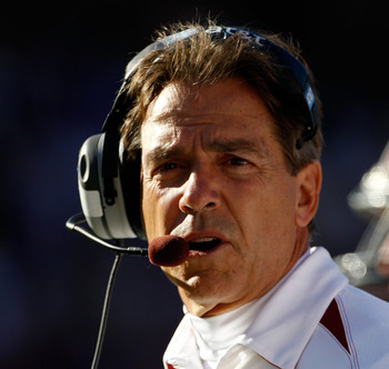 Expect Nick Saban to be at  High Tide in 2011