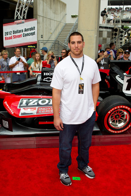 INDIANAPOLIS, IN - MAY 29: Anthony Castonzo arrives at the IZOD red carpet at Indianapolis Motor Speedway on May 29, 2011 in Indianapolis, Indiana. (Photo by Michael Hickey/Getty Images)