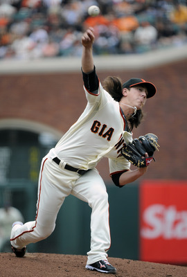 Lincecum leads a Giants staff that's even better than last season's group.