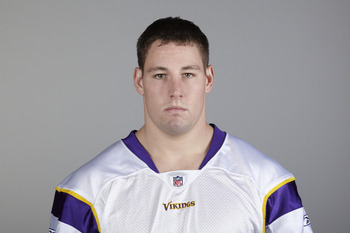EDEN PRAIRIE, MN - CIRCA 2010:  In this handout image provided by the NFL,  Ryan D'Imperio poses for his 2010 NFL headshot circa 2010 in Eden Prairie, Minnesota.  (Photo by NFL via Getty Images)