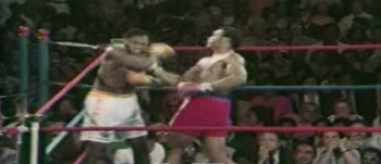 Frazier's last round as heavyweight champion