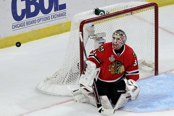 While Corey Crawford was great (even dominate at times), Antti Niemi could have been even better.