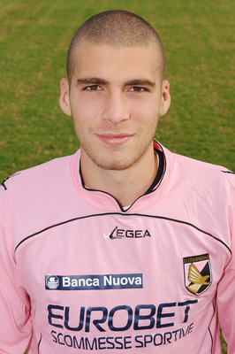 PALERMO, ITALY - JANUARY 04: Pajtim Kasami of Palermo poses for his official headshot for the 2010-2011 Serie A season on January 04, 2011 in Palermo, Italy.  (Photo by Tullio M. Puglia/Getty Images)