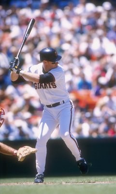 Matt Williams played ten seasons for the Giants