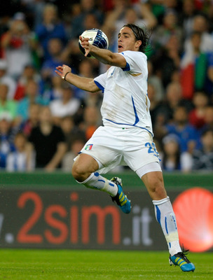 LIEGE, BELGIUM - JUNE 07:  Alessandro Matri of Italy during the international friendly match between Italy and Ireland at Stade Maurice Dufrasne on June 7, 2011 in Liege, Belgium.  (Photo by Claudio Villa/Getty Images)