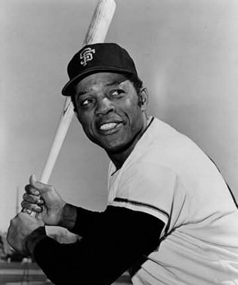 The greatest all around player in history, Willie Mays