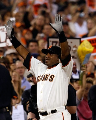 Barry Bonds, the best hitter in San Francisco Giants' history