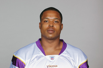EDEN PRAIRIE, MN - CIRCA 2010:  In this handout image provided by the NFL,  Jayme Mitchell poses for his 2010 NFL headshot circa 2010 in Eden Prairie, Minnesota.   (Photo by NFL via Getty Images)