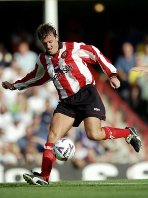 19 Sep 1998:  Matt Le Tissier of Southampton in action during the FA CArling Premiership match against Tottenham Hotdpus at The Dell in Southampton, England. The game ended in a draw 1-1. \ Mandatory Credit: Allsport UK /Allsport