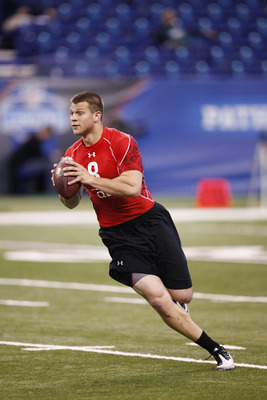 Jake Locker at NFL Scouting Combine