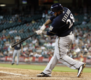 A free agent after the season, Prince Fielder has the Brewers in the middle of a playoff run.